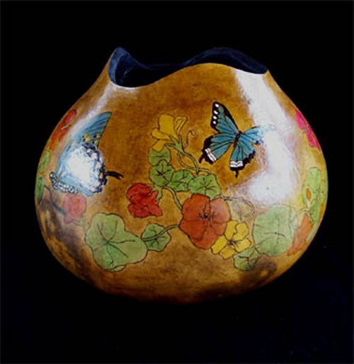 Barbara Carpenter Gourd Art 06