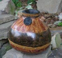 Georgette Bacon Gourd bowl
