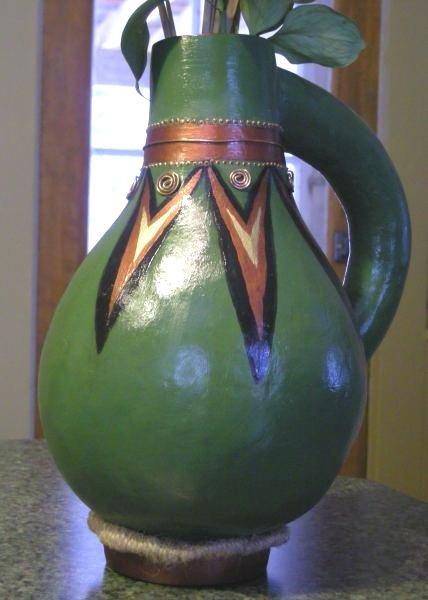Georgette Bacon Gourd art