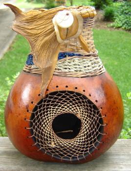 Marianne Barnes Gourd Art