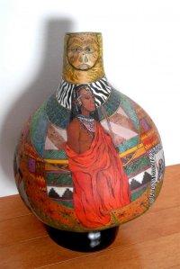 Gerri Bishop african gourd