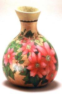 Gerri Bishop gourd vase