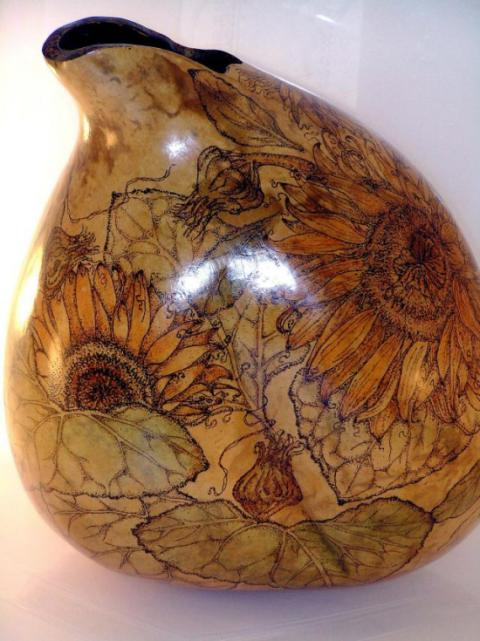 cindy auxie gourd vessel